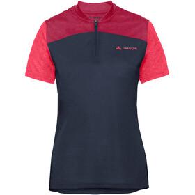 VAUDE Tremalzo IV Shirt Damer, eclipse/pink